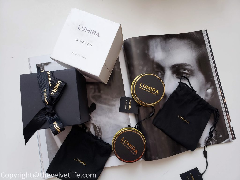 Lumira Tuscan Fig and Sirocco Candle - Luxury Home Fragrance