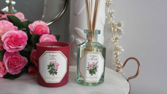 Carrière Frères La Rose aime l'Ambre Collection Candle Diffuser review